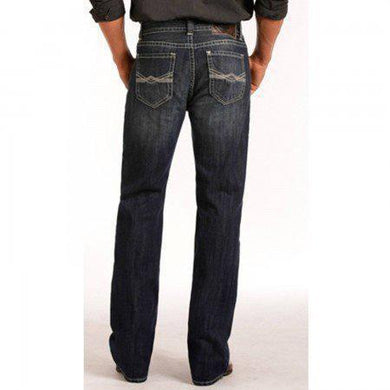 Panhandle Slim Dark Straight Jeans M0S4418
