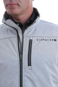 CINCH | MENS GREY TEXTURED BOND JACKET