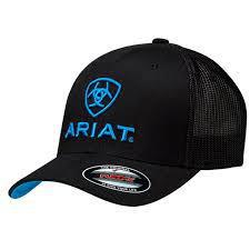 ARIAT CAP BLACK/BLUE 1502301 S-M