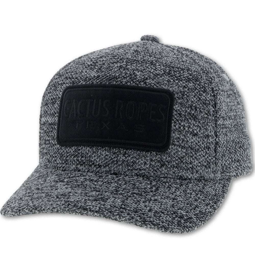 """CR57"" Cactus Ropes Gray 5-Panel Flexfit with Black Logo - Youth CR057-Y"