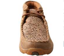 Load image into Gallery viewer, Twisted X Bomber/Nude Print Women's Driving Moccasins WDM0080