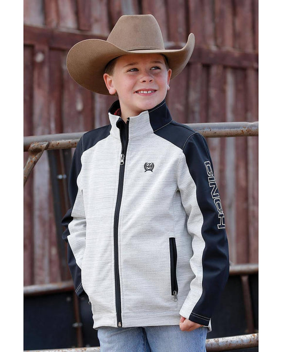 CINCH | BOYS  JACKET GREY