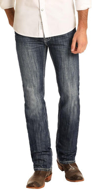 ROCK & ROLL DENIM Slim Fit Revolver Straight Leg Jeans M1R3403