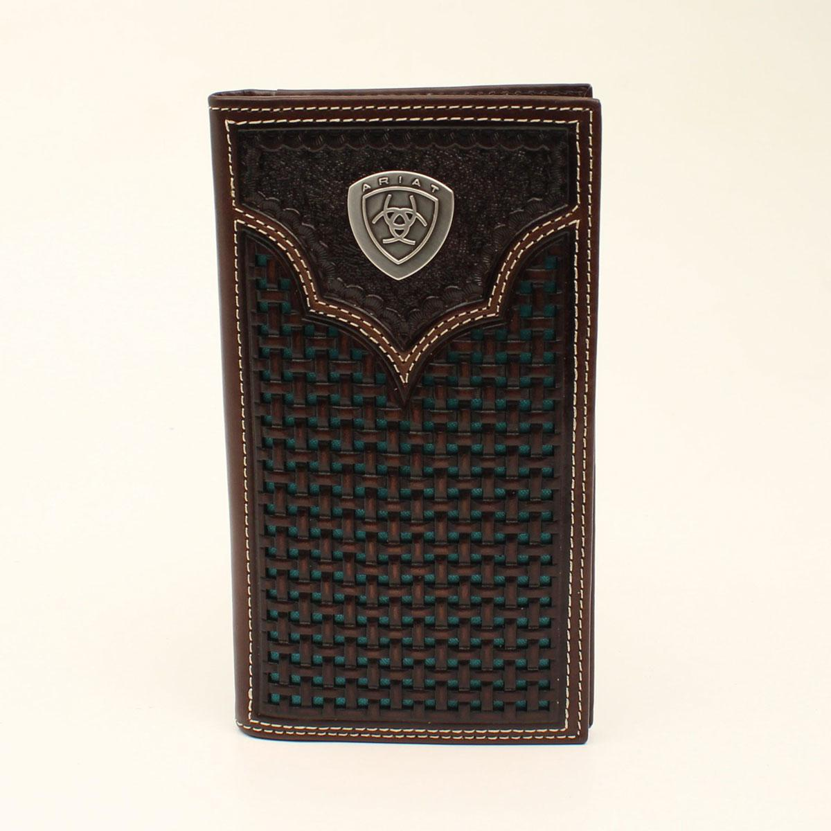 ARIAT RODEO WALLET TURQUOISE DOTS A3540533