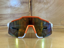 Load image into Gallery viewer, SUNGLASS : WHITE ORANGE