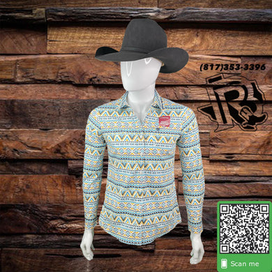 ARIAT | LONG SLEEVE SHIRT VINTAGE DESIGN