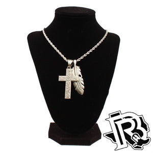Twister Mens Necklace Silver 32140