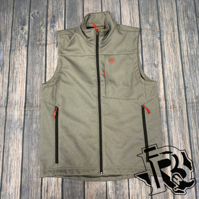 Ariat Red Vernon 2.0 Softshell Black Print Vest 10023332
