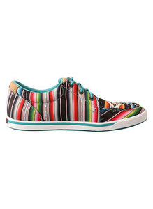 TWISTED X Women's Hooey Loper Black/Serape WHYC008