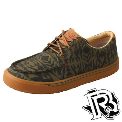 Twisted X : Hooey Sneaker Men's shoes VINTAGE BROWN