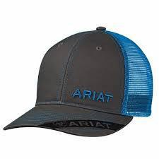 ARIAT GREY /BLUE CAP 1503527