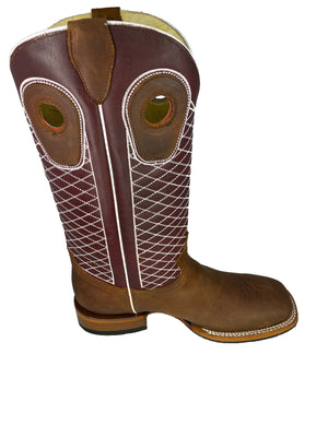 SQUARE TOE CRAZY THANG BOOT MOH273