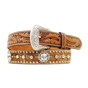 NOCONA BELT WITH CONCHOS N2411808