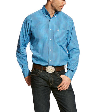 ARIAT: Pro Series Abelman Fitted Shirt ( Camisa Ariat )