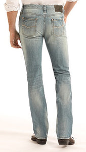 Revolver Slim Fit Straight Leg Reflex Jeans in Light Wash Style Number M1R9274