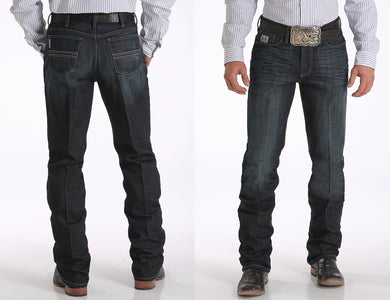 MENS SILVER LABEL PERFORMANCE DENIM - DARK RINSE Style: MB98034007