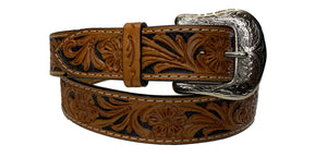 TWISTED X BELT TOOLED LEATHER  XIbn-2