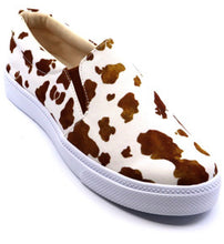 Load image into Gallery viewer, Cow Brown Shoes