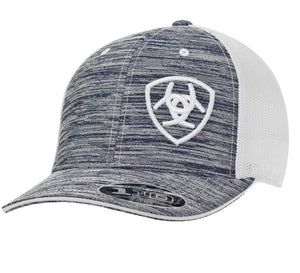 ARIAT CAP HEATHER GRAY /WHITE 1504905