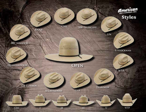 AMERICAN HAT | STRAW HAT 5525 WOR