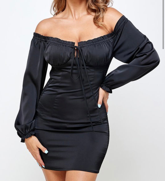 MYA DRESS (BLACK)