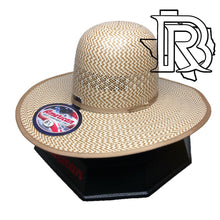 Load image into Gallery viewer, AMERICAN HAT | STRAW HAT 5525 4 1/4''