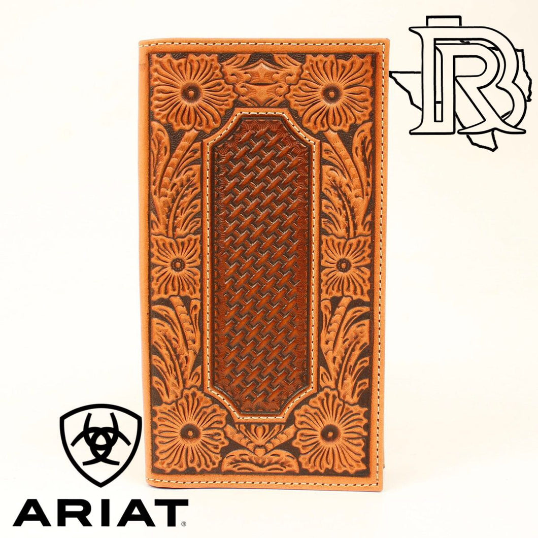 ARIAT TAN RODEO WALLET A3535808