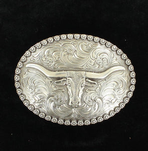 NOCONA MENS OVAL TRIPLE CROSS BUCKLE 37981