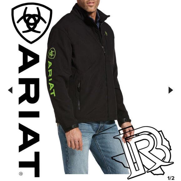 MEN'S Ariat Green Logo 2.0 Softshell Jacket 10029962