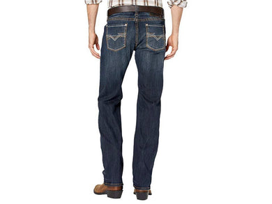 Rock and Roll Denim, Men's Revolver Slim Straight Jeans, Dark Wash M1R3406