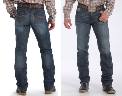 MENS SILVER LABEL PERFORMANCE DENIM - DARK STONEWASH Style: MB98034006