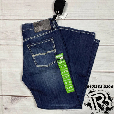 ROCK & ROLL DENIM Regular Fit Pistol Straight Leg Jeans