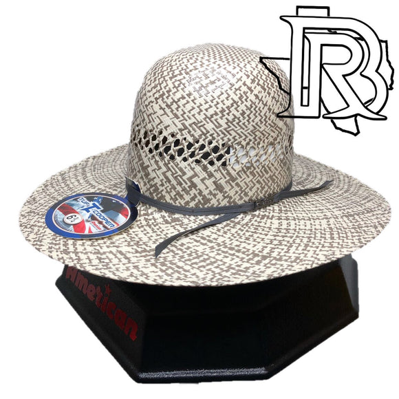 AMERICAN HAT |  STRAW HAT TC8880 4 1/4''