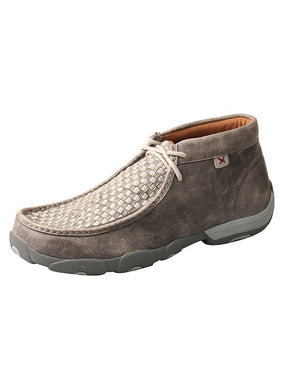 TWISTED X Basket Weave Grey men
