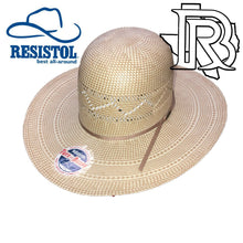 Load image into Gallery viewer, RESISTOL DONLEY: STRAW HAT 4 1/4'' Brim