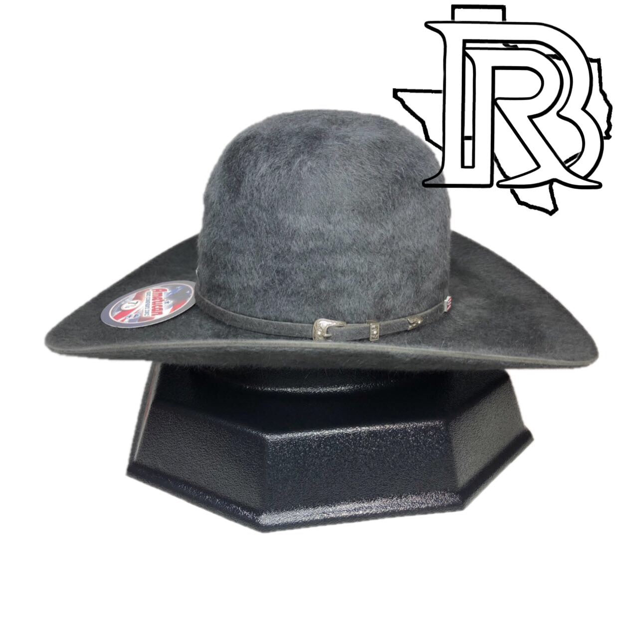 20x American Hat Grizzly Charcoal – Botas Rojero