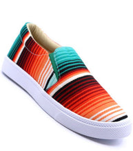 Load image into Gallery viewer, Aztec  Canvas Stripe  Shoes