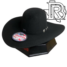 Load image into Gallery viewer, 20X AMERICAN HAT BLACK 5 INCH BRIM FELT HAT