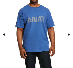 MEN'S ARIAT Rebar Cotton Strong Block T-Shirt 10030293
