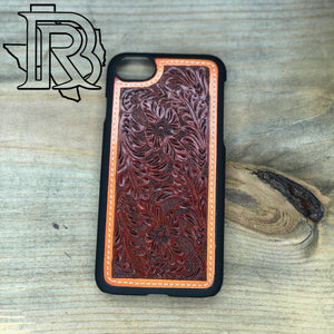 TOOLED LEATHER - I PHONE 8