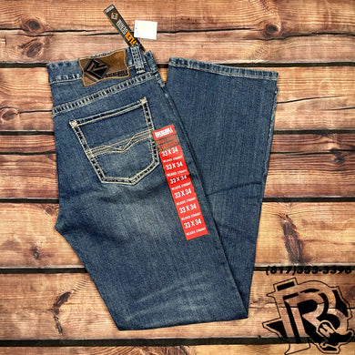 ROCK & ROLL JEANS | DOUBLE BARREL BOOTCUT 19''