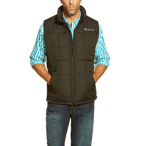 ARIAT: BROWN Crius Vest for men