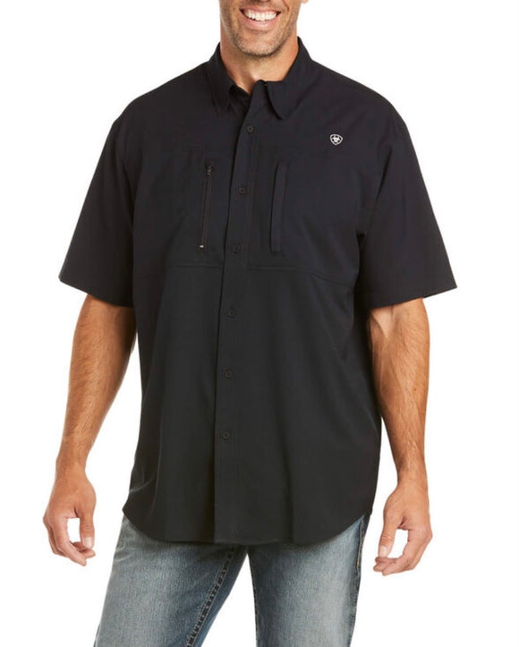MEN'S ARIAT VENTTEK CLSSC SS SHIRT BLACK (10034960)