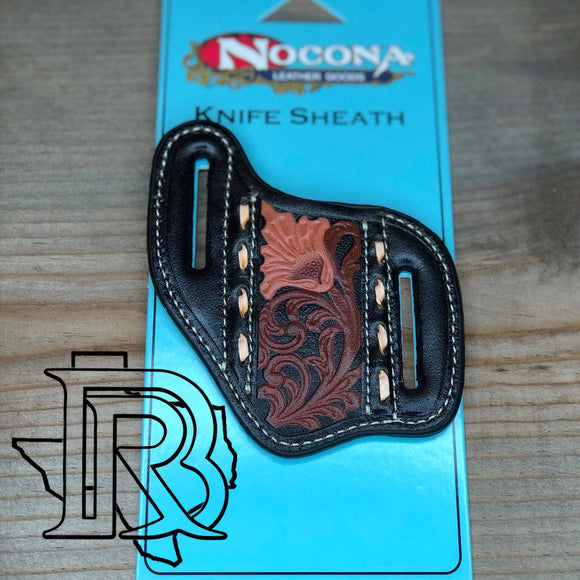 NOCONA: KNIFE SHEATH brown/black