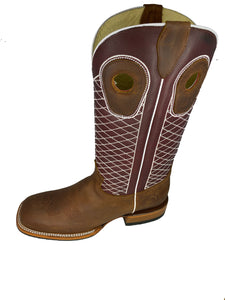 SQUARE TOE BOOT CRAZY THANG BOOT MOH273