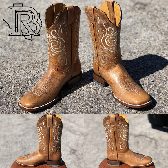 BR Square Toe Boots : TEXAS HAY