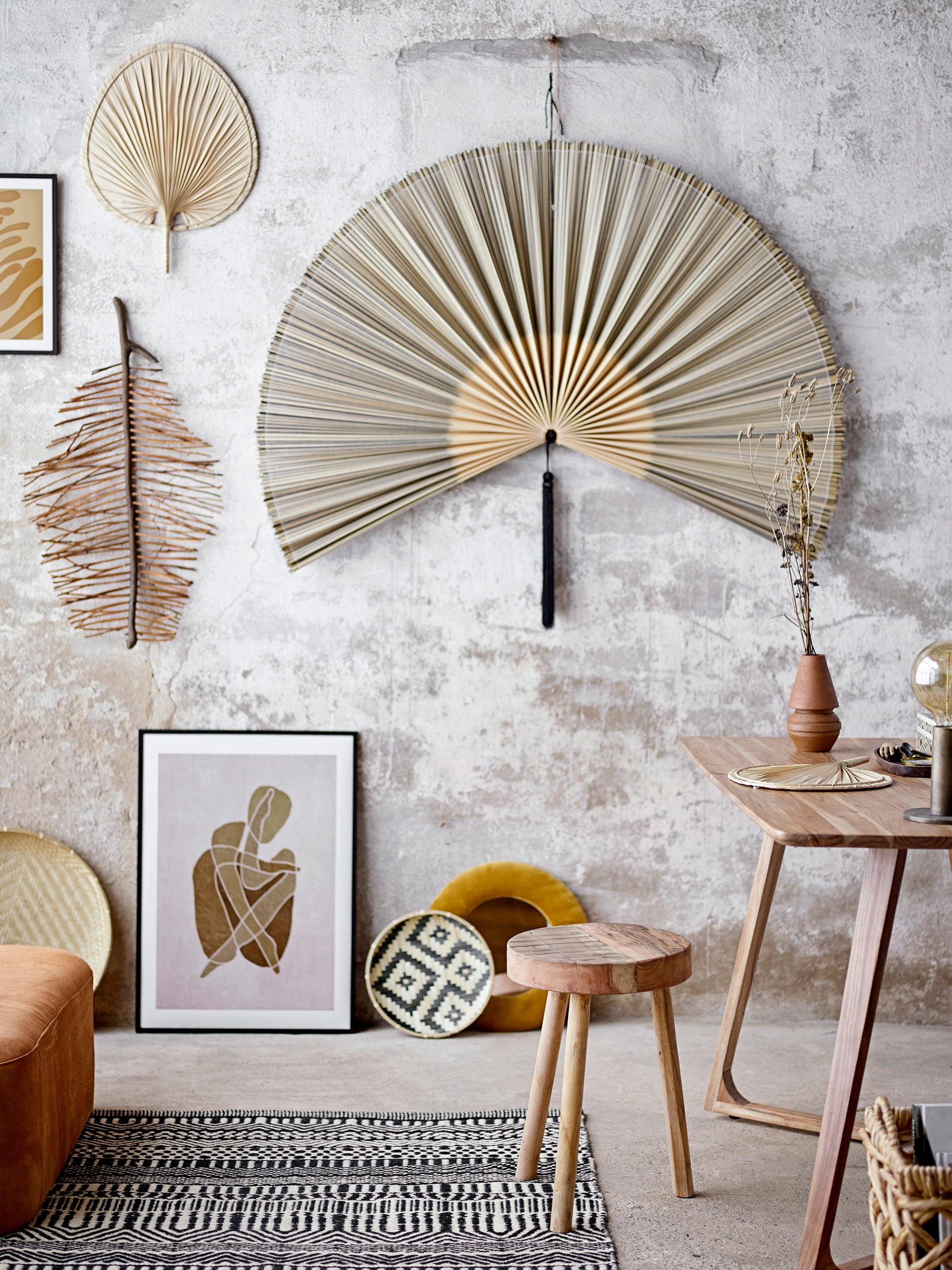 BAMBOO WALL FAN