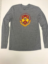 Load image into Gallery viewer, Grey Crest Tee (Long Sleeve)