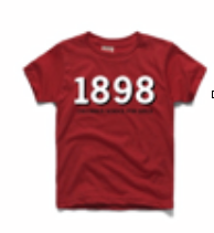 Homage 1898 Red Tee (Youth)