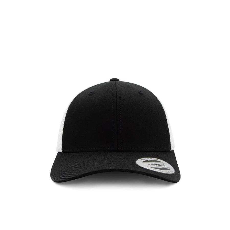 Kids Trucker Snapback - Black & White